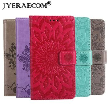 JYERAECOM Flip Case For Samsung Galaxy S3 S4 S5 S6 S8 PU Leather + Wallet Cover For Coque Samsung Galaxy A3 2016 A5 2017 Case
