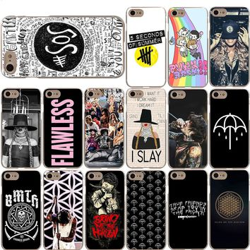 5SOS Beyonce Bring Me the Horizon BMTH Case for iPhone X 8 7 6S 6 Plus 5S 5 SE
