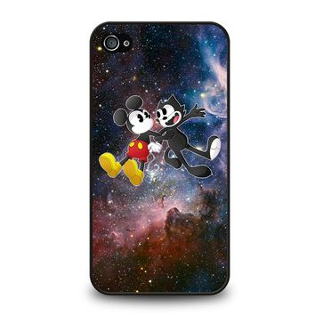 MICKEY MOUSE AND FELIX THE CAT iPhone 4 / 4S Case