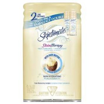 Skintimate® Skin Therapy Moisturizing/Hydrating Shave Gel with Shea Butter - 14oz/2pk