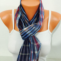 stripped scarf gypsy scarf shawl black red blue scarf unisex scarf pattern scarf accesories summer spring winter scarf boho men woman scarf