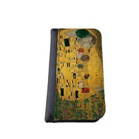 The Kiss by Gustav Klimt Art Painting iPhone 6 (4.7 inch) PU Leather Wallet Case By caseOrama