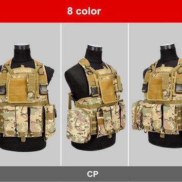 ATS Versatile Military Style Tactical Vest In 8 Colors