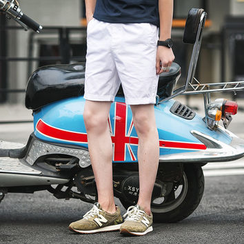 Mens Slim Casual Shorts