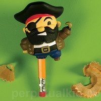PIRATE LEG PENCIL SHARPENER