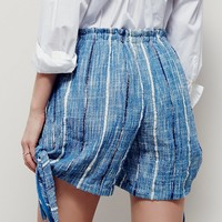 Free People Blue Bonnet Tie Short