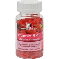Nutrition Now Vitamin B-12 Gummy Vitamins Raspberry - 100 Gummies