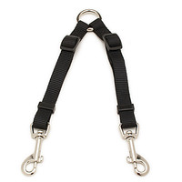 Aspen Pet by Petmate Take Two Adjustable Leash Extension in Black