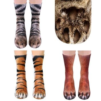 Animal Socks ( One Size Fits All )
