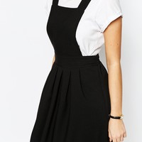 Love Tailored Mini Pinafore Dress at asos.com