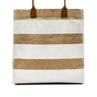 Beach Tote in White