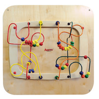 Anatex Sculpture Puzzle Maze Kids Games Toys Activity Fun Learning Decorative Wall Panel