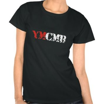 YMCMB Clothing Black T Shirt Women from Zazzle.com