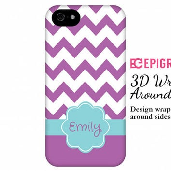 Chevron monogram iPhone 6 case, custom iphone 5c case, monogrammed iPhone 5s case, iPhone 4s phone cases, Galaxy S5 case, iPhone 6 plus case