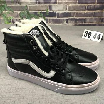 VANS SK8-HI Reissue Trendy Personality School Board Shoes F-CSXY