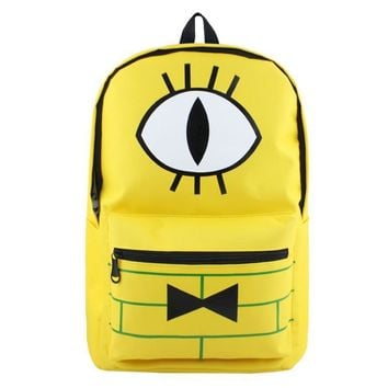 Gravity Falls Backpacks Children Cartoon Canvas School Backpack for Teenagers Men Women Daily Bag Laptop Bags Mochila