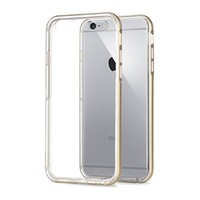 iPhone 6S plus case,iPhone 6 plus case,[5.5],by Ailun,Shock-Absorption Bumper,TPU case,Anti-Scratch reinforced PC Frame clear Back cover,ECO-Friendly Packaging[Gold]