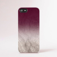 Burgundy Phone Case Wood Print iPhone 6 Case Wood Print iphone 5 Case iPhone5s Case Wood Galaxy S5 Case Fall Color Ombre iPhone Case