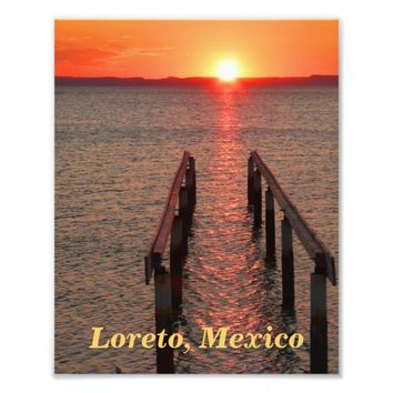 Loreto Mexico Photo Print