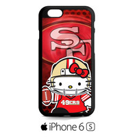 hello kitty SF 49ers iPhone 6S  Case