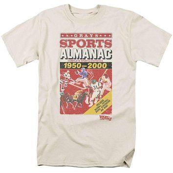 Back to the Future Sports Almanac Mens T-Shirt