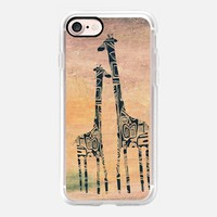 Giraffes iPhone 7 Case by Marianna | Casetify