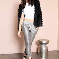 Mason Sequin Joggers by Amuse Society