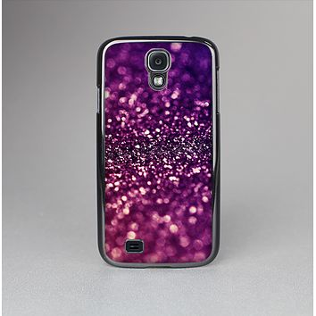 The Unfocused Purple & Pink Glimmer Skin-Sert Case for the Samsung Galaxy S4