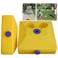 Poleish Sports Two Multi Surface Bases for Use with Standard Game Set
