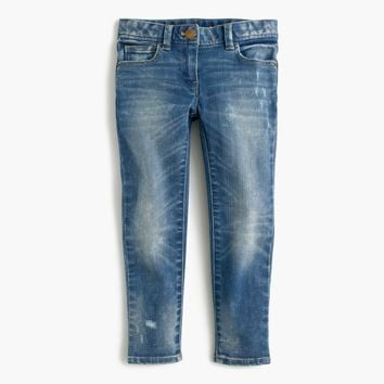 Girls' Stretch Toothpick Jean : Girls' Jeans | J.Crew