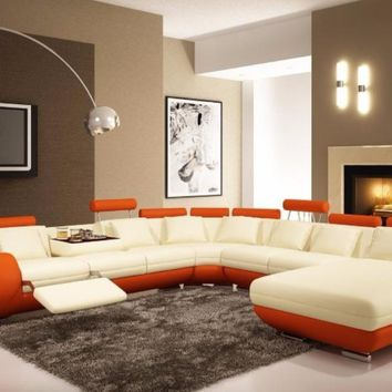2017 Promotion New Sectional Sofa Modern Sofas For Living Room Armchair Chaise Good Quality Cheap Price Leather Sofa Recliner