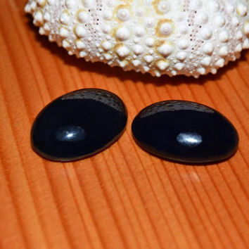 onyx cabochon, healing stones, black gemstone, black onyx, jewelry supplies, jewelry design, jewelers bench, semi precious, cabochon pair