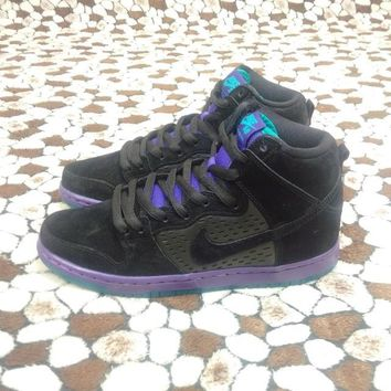 Nike Dunk High Premium SB Purple Grape 313171-027 Size 40 -45