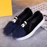 Fendi Women Fashion Casual Flats Shoes