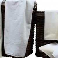Yarn Dyed Cotton Towel Set 6-Piece (Sand Shell)