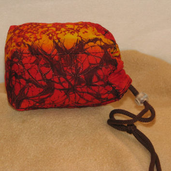 Hot Lava Glass Pipe Protective Pouch
