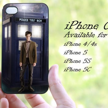 police call box doctor who design iphone case for iphone 4 case, iphone 4s case, iphone 5 case, iphone 5s case, iphone 5c case