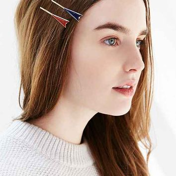 Arrow Flag Bobby Hair Pin Set