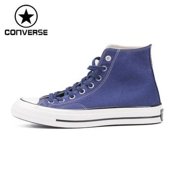 Original New Arrival 2017 Converse All Star'1970S Unisex Skateboarding Shoes Canvas Sn