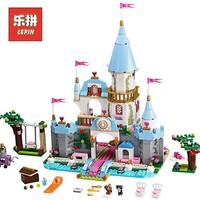 Compatible legoing 41055 Girl Friends Kids model 25006 blocks Cinderellas Romantic Castle building blocks toys for children
