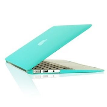 "NEW ARRIVALS! Rubberized TIFANY BLUE Hard Case Cover for Macbook Air 11"" A1370"