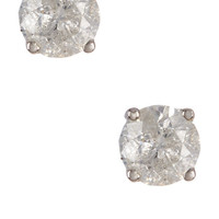On HauteLook: | 14K White Gold Diamond Stud Earrings - 0.25 ctw