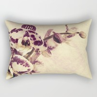 Orchids 2 Rectangular Pillow by VanessaGF
