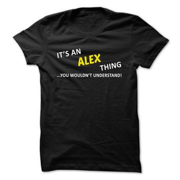 Its an ALEX thing... you