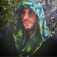 Super Trippy Hippie with Galactivated Green Ganja Infinity Hood