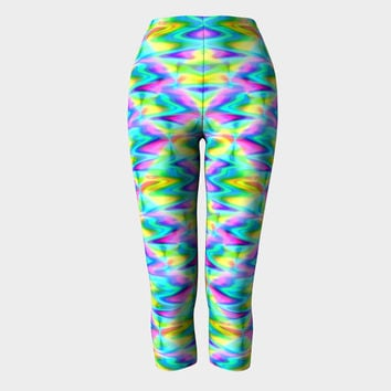 Magic Potion, Capri Leggings, Yoga and Fitness, Compression fit performance, sports, gym,activewear, Made in Canada