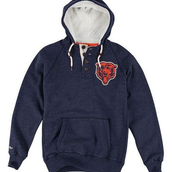 Chicago Bears Field Vision Hoody By Mitchell & Ness