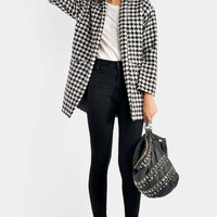 Miranda Checkered Coat