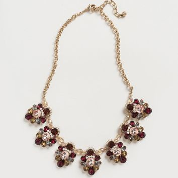 Annelise Ruby Crystal Statement Necklace