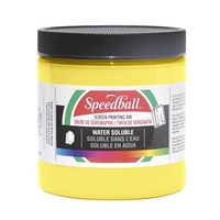 Speedball Non-Toxic Non-Flammable Water Soluble Screen Printing Ink, 1 qt Jar, Yellow